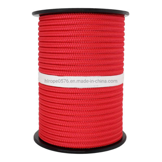 PP Rope Multibraid & 8mm Standard Colours Red