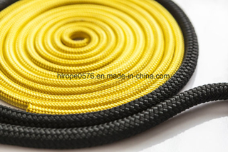 12-Strands Yellow Nylon Polyamide Floating Rope High Quality