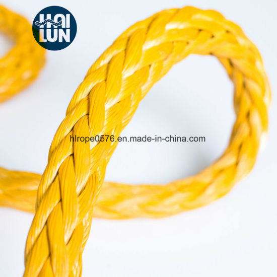 Super Quality 12-Strand UHMWPE/Hmpe Fishing Rope