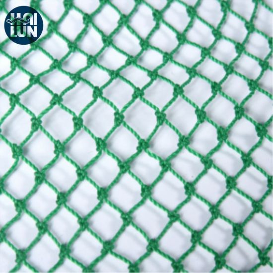 Durable Braided Green PE Fishing Net