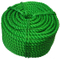 3/8 Strand Colorful Marine PE Twist Rope for Mooring and Fishing