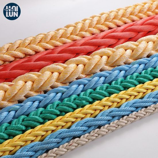 Polypropylene and Polyester Mixed Rope for Towing and Fishing