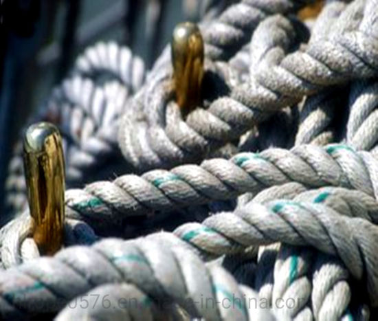 PP Twisted Marine Rope for Shipping