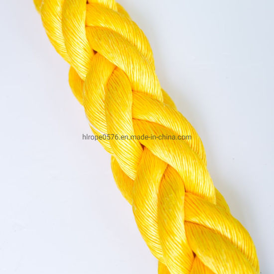 High Quality 8 Strand Polypropylene PP Twist Danline Fishing Fishing Rope