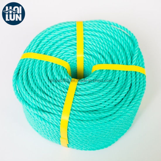 PE Rope Polyethylene Twisted Rope Mooring Rope