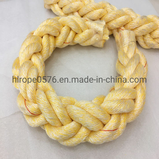 8 Strand Polyester and Polypropylene Mixed Mooring Rope