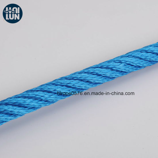 Colorful Polypropylene Marine Mooring and Fishing Rope