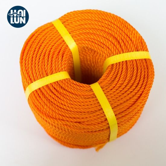 China Factory PE Twist Rope Tiger Rope