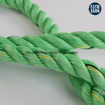 Green Marine 3strand PP Rope for Mooring