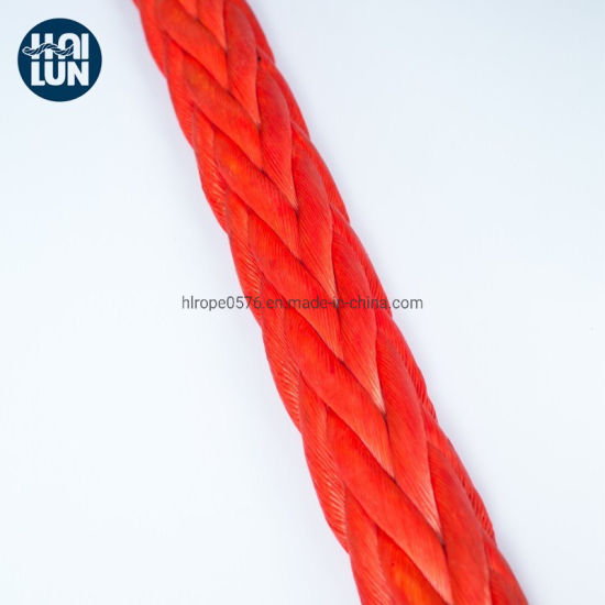 Hmwpe/Hmpe Rope Winch Rope UHMWPE Rope for Towing