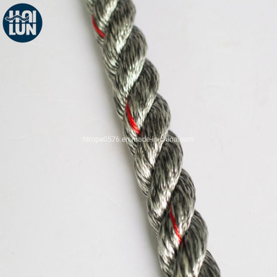 Marine Rope 3 Strands Polypropylene Polyester Mixed Fiber Rope
