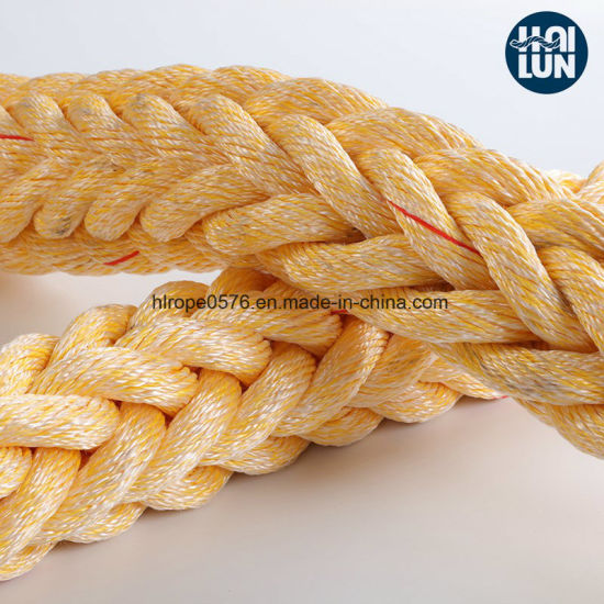 Factory Supply Polypropylene and Polyester Mixed Mooring Rope
