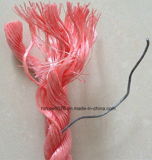 3 Strands Braided Polypropylene PP Lead Danline Rope for Fishing