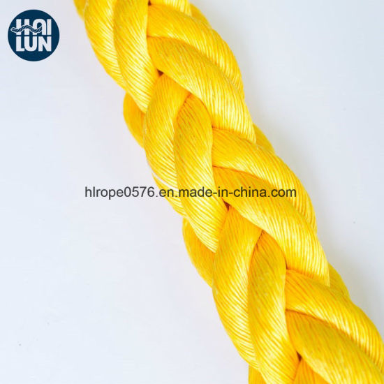 Super Strong Polypropylene Mooring Hawser Rope