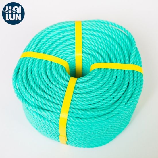 China Factory PE Rope Tiger Rope Fishing and Mooring Rope