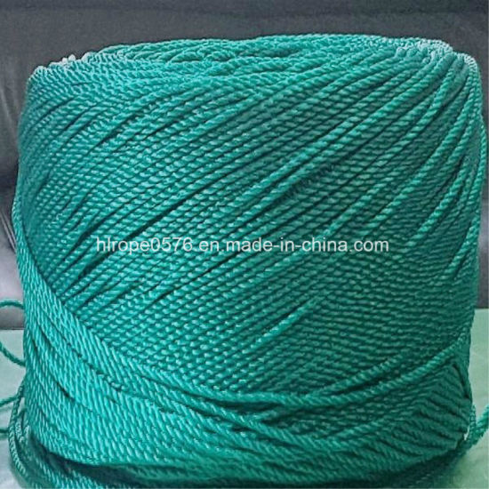 Safety Fluorescence Rope, Green PE Rope, From 5mm to 16mm