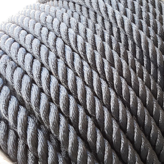 100% High Strength Polyester Rope Marine Rope