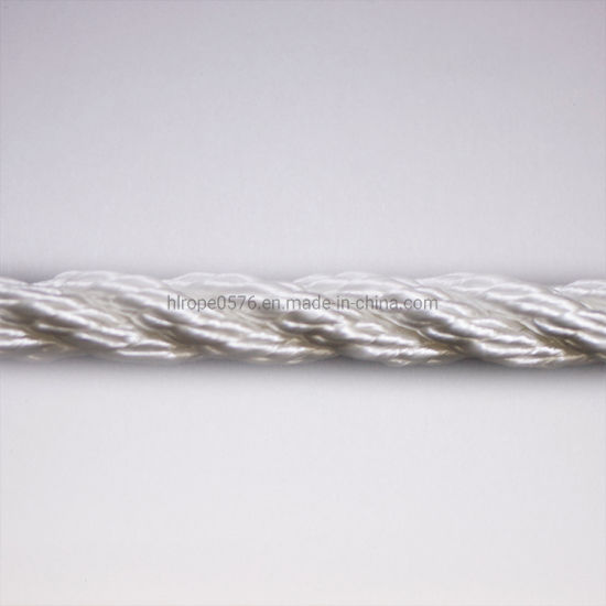10mm White Nylon Rope (Sold By Meter)