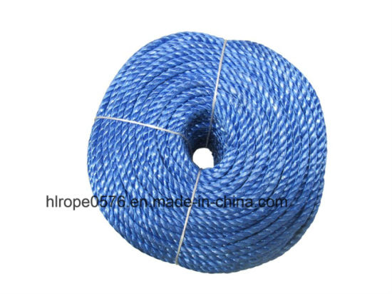 6mm Blue Chemical Fiber Ropes Mooring Rope PP Rope Polyester Rope PE Marine Rope