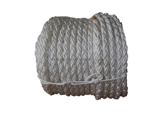 8-Strand 45mm Polypropylene Floating Rope Danline Vessel Mooring Rope