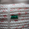 10mm White with Red Fleck Floaty Polysteel Rope (220m Coil)