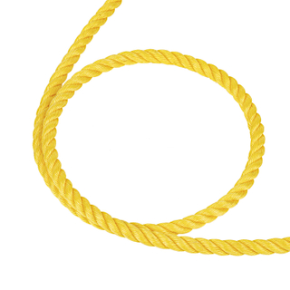 Dia 20mm*500mtrs 3 Strand Yellow Nylon PP Polyester Ployamide Rope