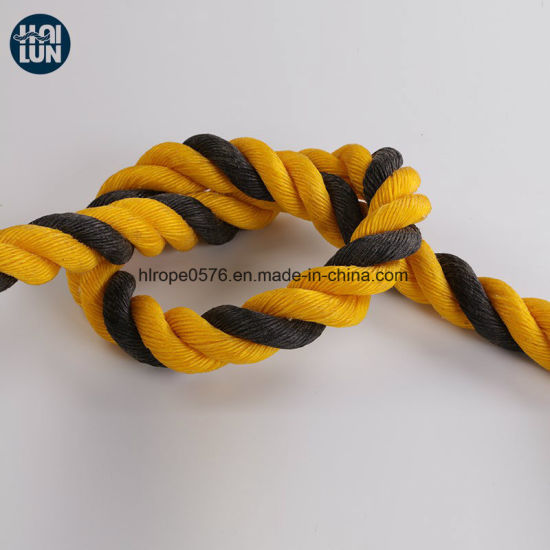 High Abrasion 3 Strand PE Twist Rope for Mooring