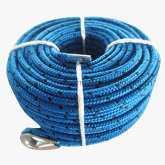 PP Multifilament Double Braid Rope for Winch