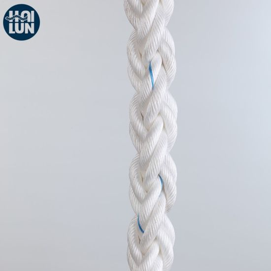 High Strength 8/12 Strand Hawser Polypropylene Rope Marine Towing Rope Mooring Rope