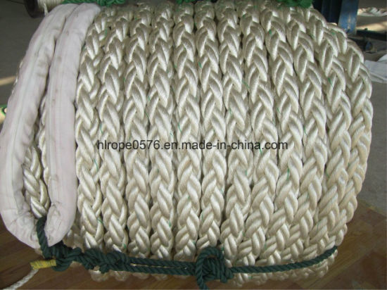 8 Strand 220 Meters Length Polyamide Nylon Mooring Ropes with Good Price