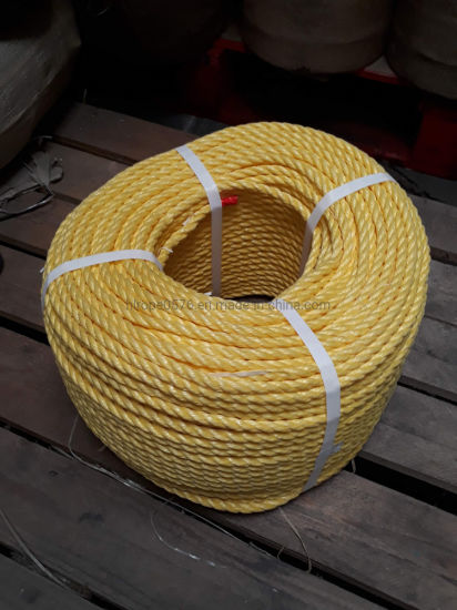 10mm Yellow Polypropylene Rope (220m Coil)