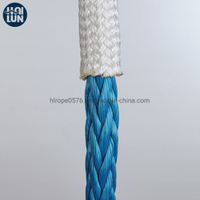 Polyester Cover 12 Strand Synthetic UHMWPE/Hmpe Marine Towing Rope for Mooring Offshore
