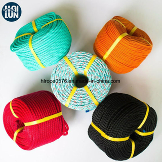 3 Strand PP Rope PE Rope for Mooring and Fishing