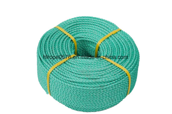 3 Strand Green Polypropylene Rope