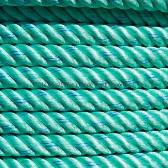 Factory Green PP Rope Polypropylene Rope for Fishing and Mooring.