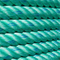 Wholesale Green PP Rope Polypropylene Rope for Fishing and Mooring.