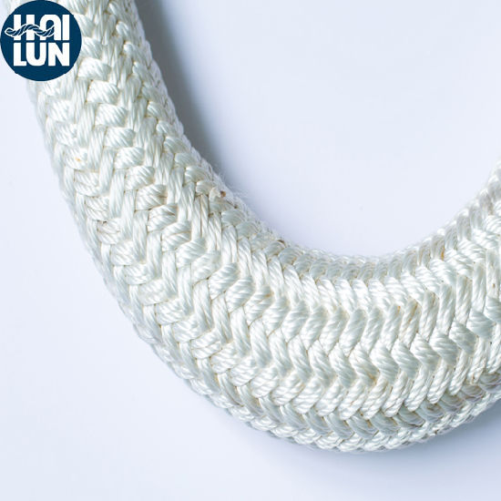 Mixed PP and Polyester Double Braided Sailing Rope