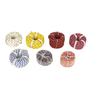 3strand Twist PE Colored Rope in Coil