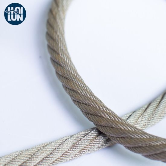 Industrial Combination Rope Steel Rope for Mooring and Fishing