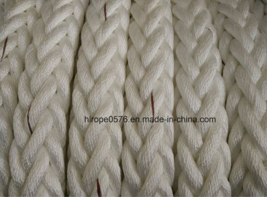 72mm Polypropylene Multifilament 12 Strand Marine Mooring Rope