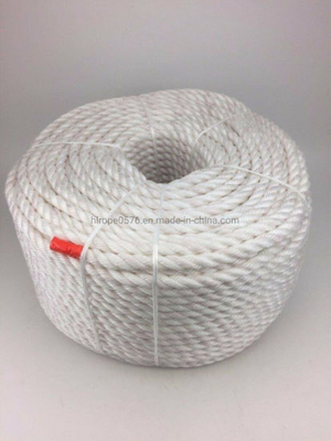 220m X 8mm White Heavy Duty Polypropylene Rope Coil