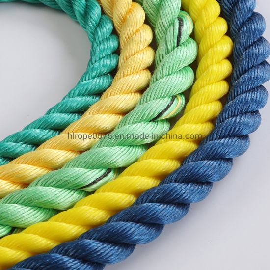 3 Strand Polypropylene Rope/PP Rope for Fishing and Mooring