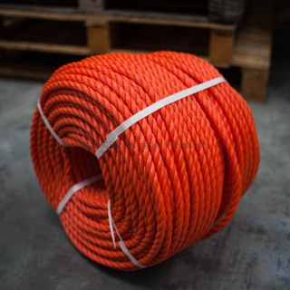 12mm Orange Polyethylene Rope (220m Coil)