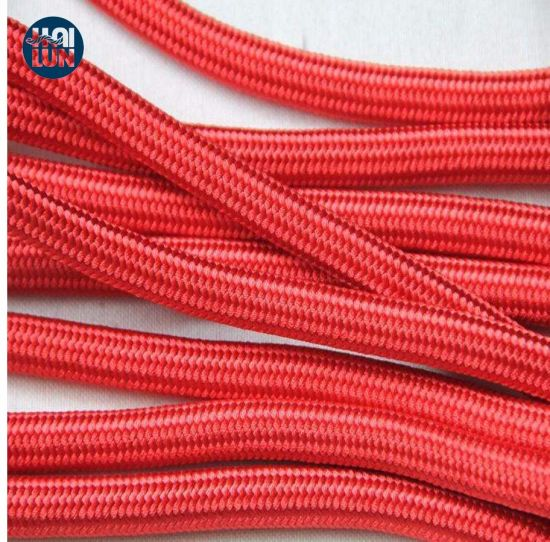 Red High Strength Polypropylene Multifilament Double Braid Fishing Rope