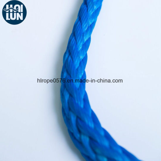 Customized UHMWPE/HMPE Rope Winch Rope for Fishing and Mooring
