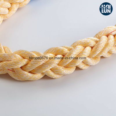Mixed PP and Polyester Mooring Rope Twist Rope Marine Rope
