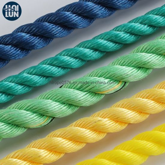 3 Strand PP Rope Marine Rope for Fishing and Mooring