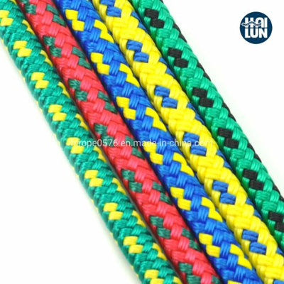 Factory Wholesale Polypropylene Nylon Polyester Double Braide Rope