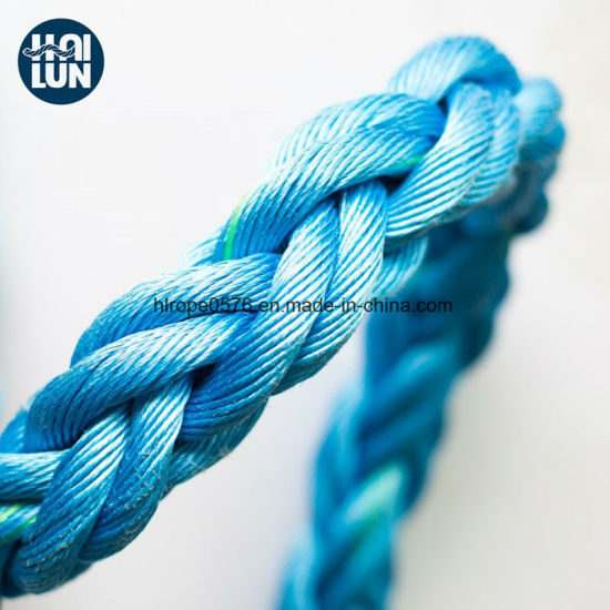 Static Safety PP Hawser Rope for Mooring and Fishing