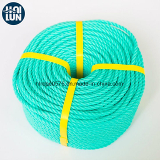 Good UV-Resistance 3 Strand PE Rope Used for Fishing and Mooring